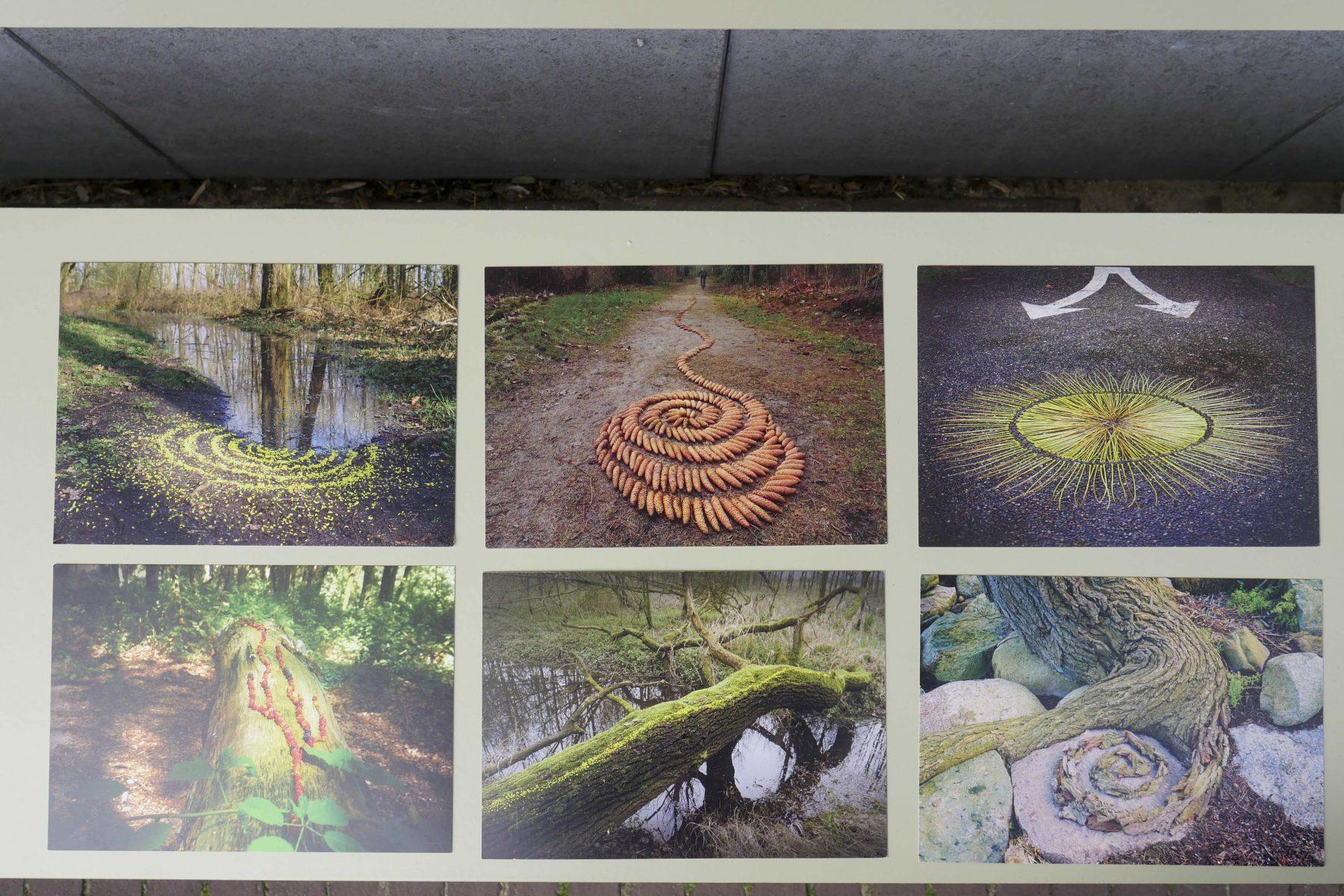 Land Art projecten Mies Heerma kaarten bij Angelart kunst&Zo Angela Peters