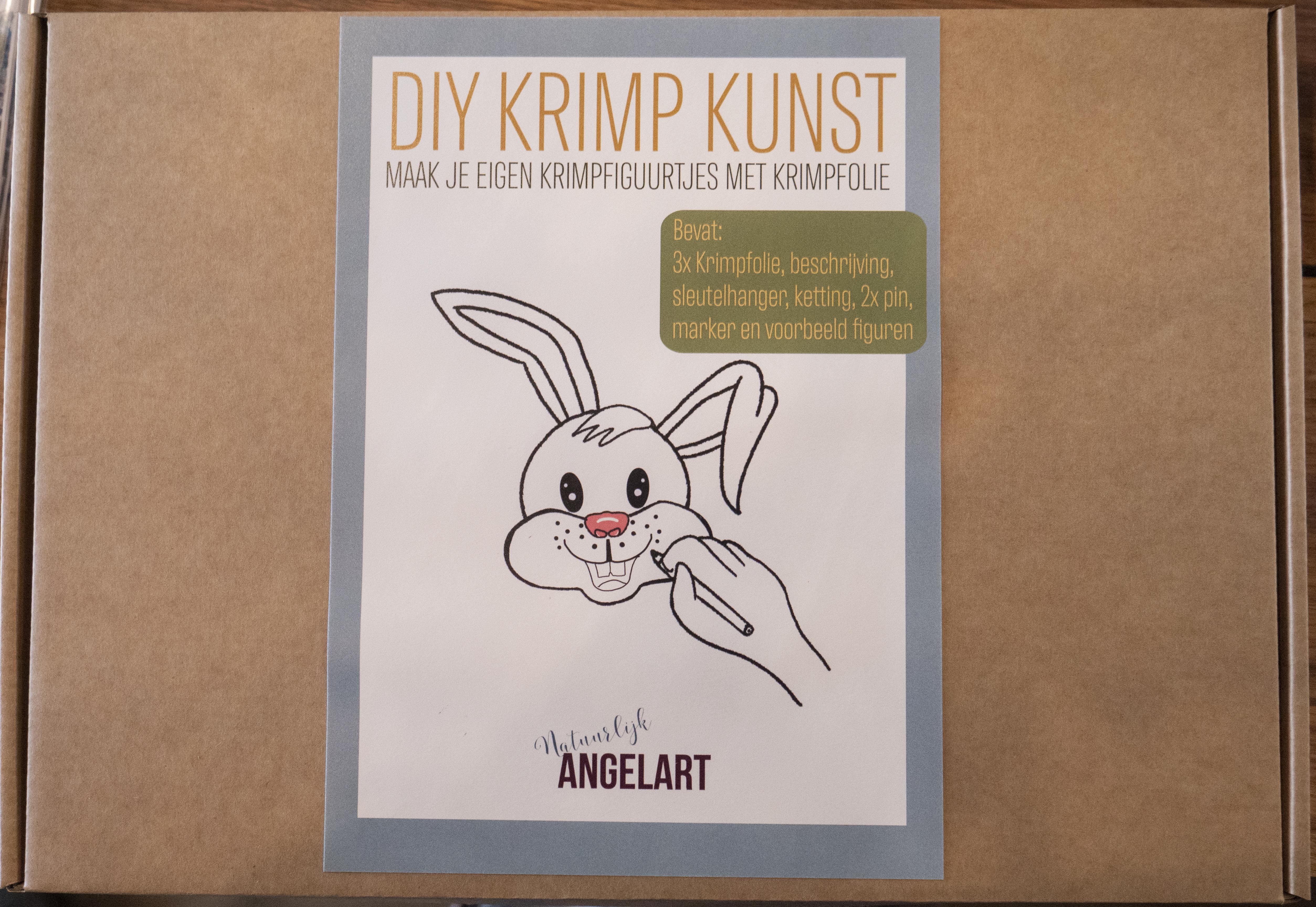 Diy krimp Kunst Natuurlijk Angelart