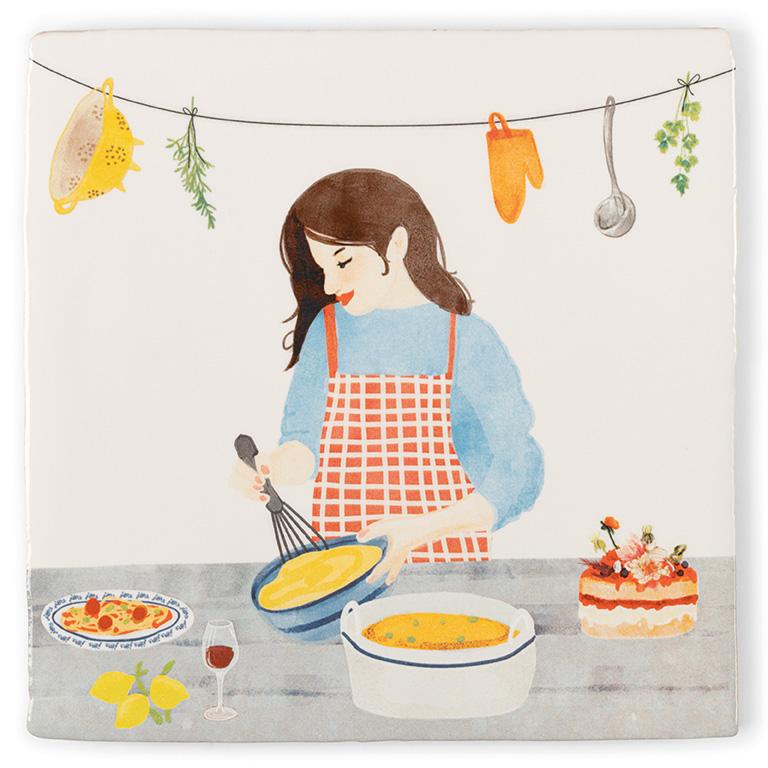Snufje zout, beetje peper, nog even proeven en klaar! Liefde gaat nog altijd door de maag toch?;) StoryTiles -Keukenprinses Angelart Kunst&Zo hattem
