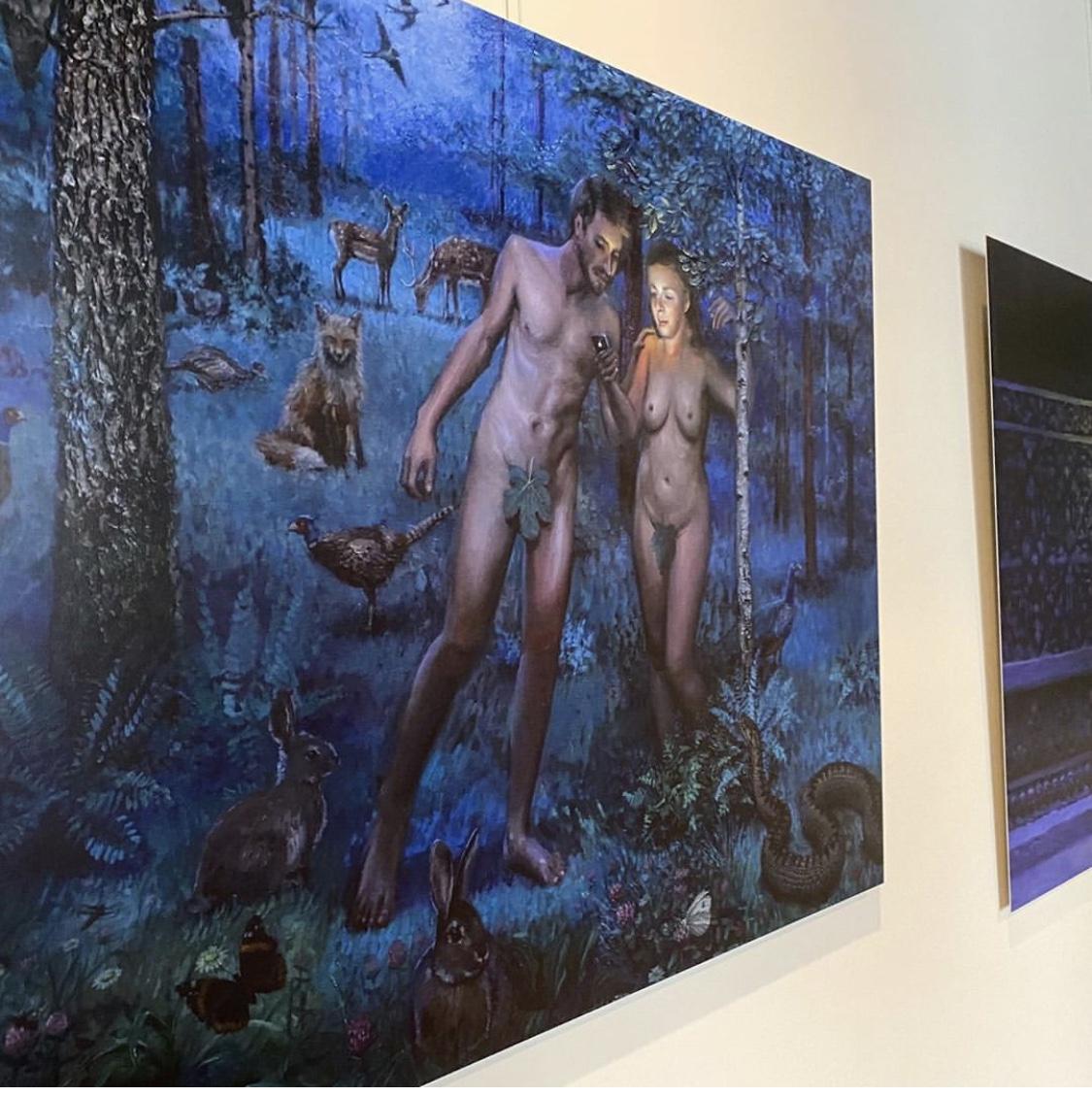 daniel Douglas nieuw licht kunstprint bij Angelart Kunst&Zo