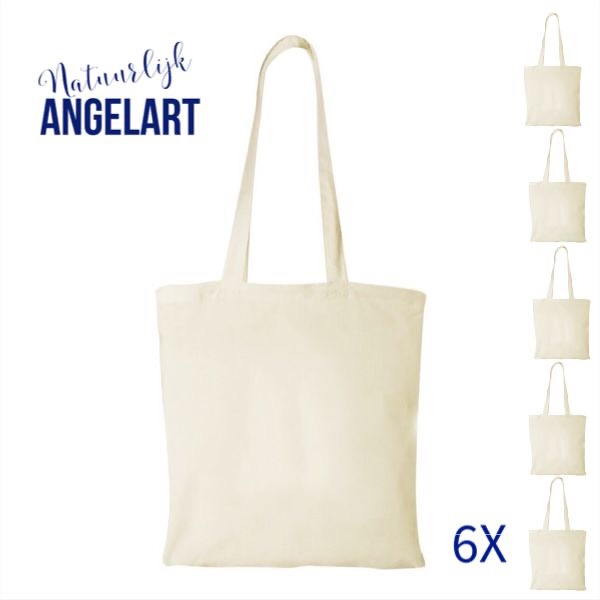 Natuurlijk Angelart tassen voor stempel-art