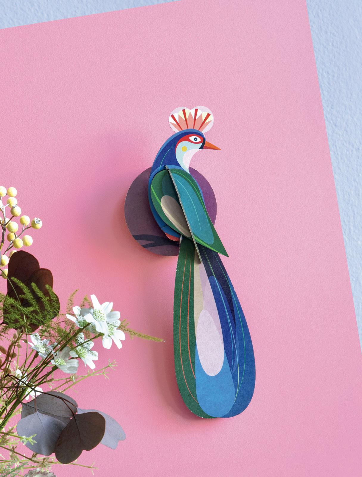 Studio Roof bij Angelart Kunst en Zo Angela Peters Paradijsvogel