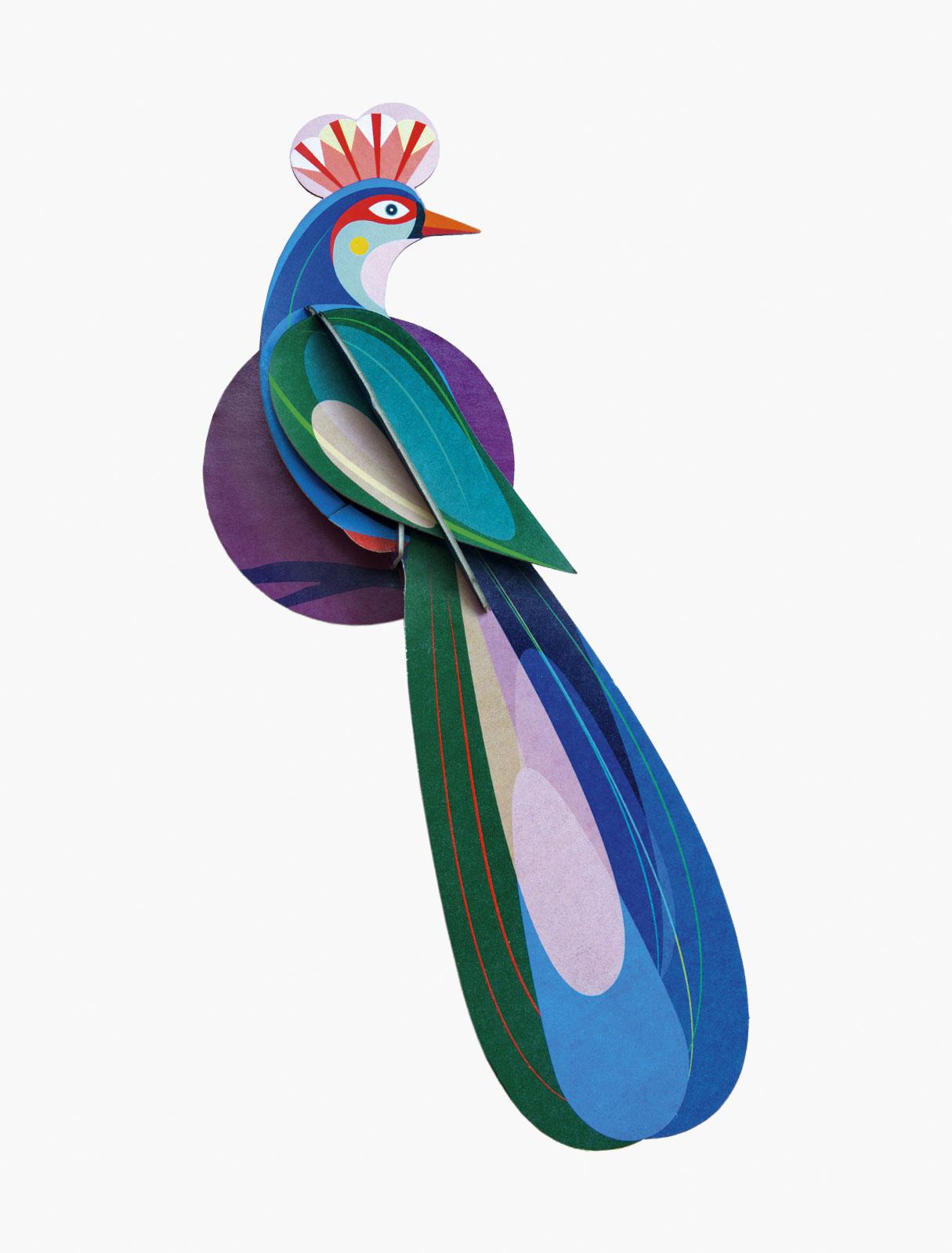 tropische vogel voor aan de wand Studio Roof
