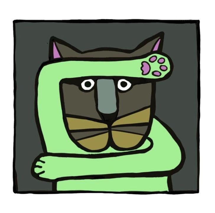 Willeke Trooster Katten kunst