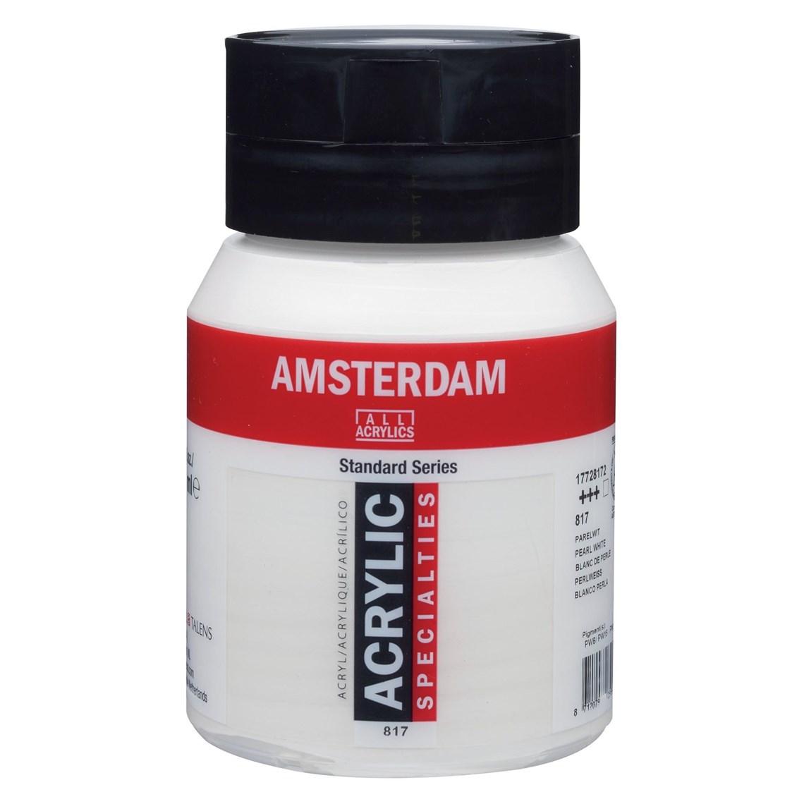 Amsterdam Acrylverf Parelwit 817 specialties Angelart Kunst en zo