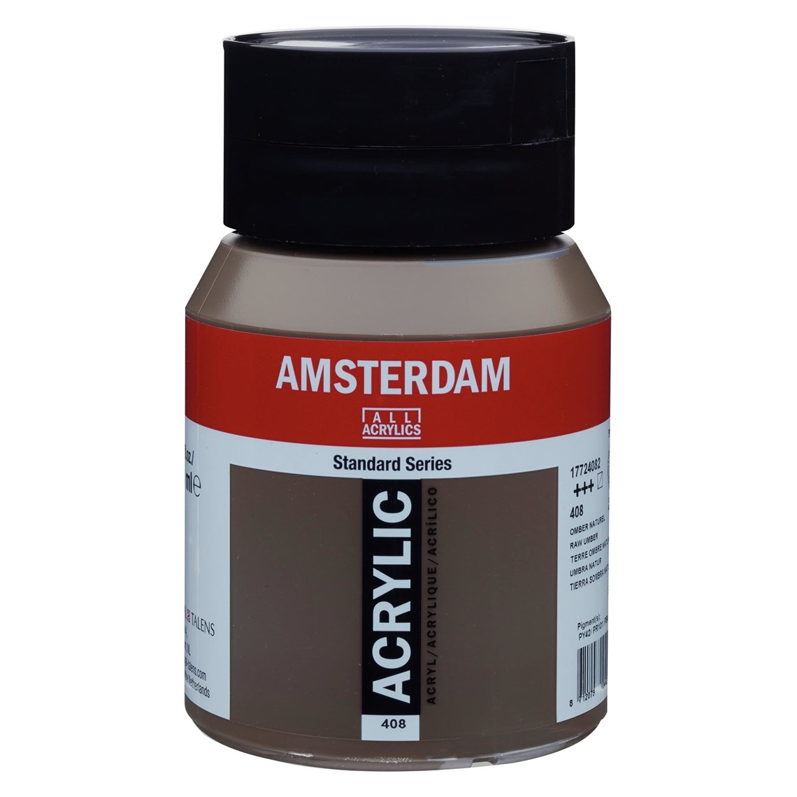 Amsterdam acrylverf Omber naturel 408 Angelart Kunst en zo