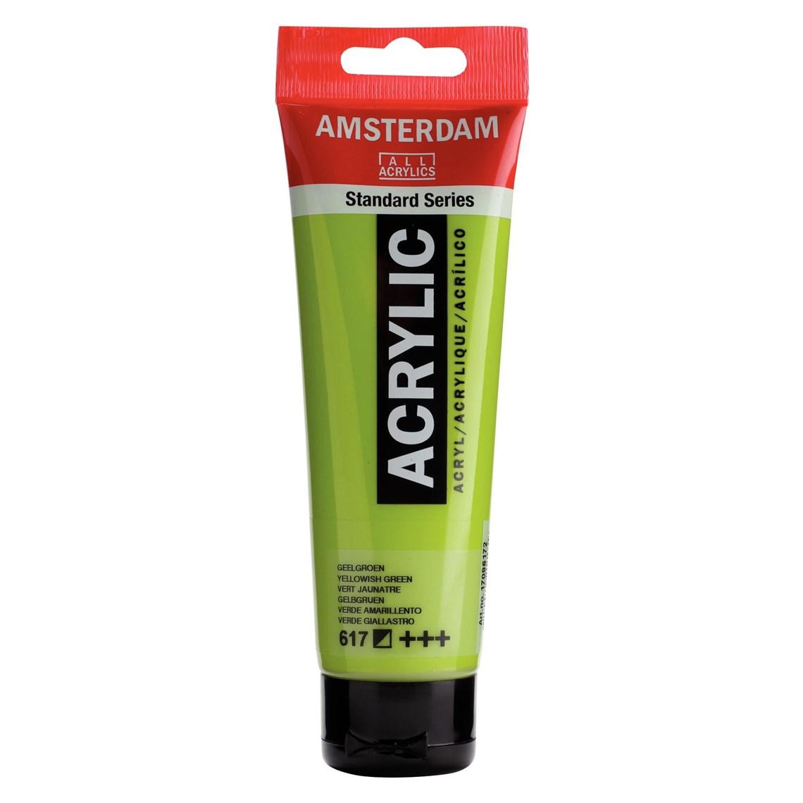 Amsterdam acrylverf Geelgroen 617