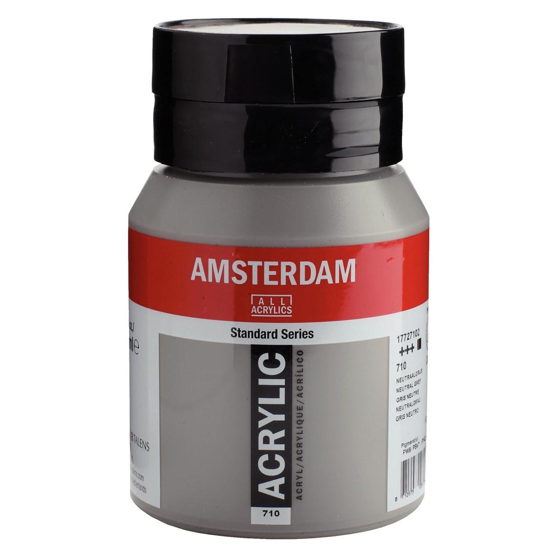 Amsterdam Acrylverf Neutraalgrijs 710