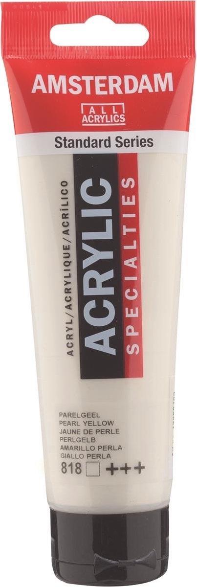 Amsterdam Acrylverf Parelgeel 818 specialties