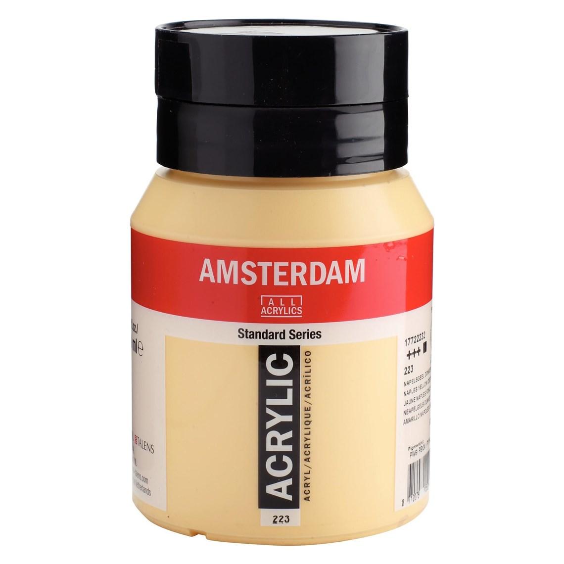 Amsterdam acrylverf Napelsgeel donker
