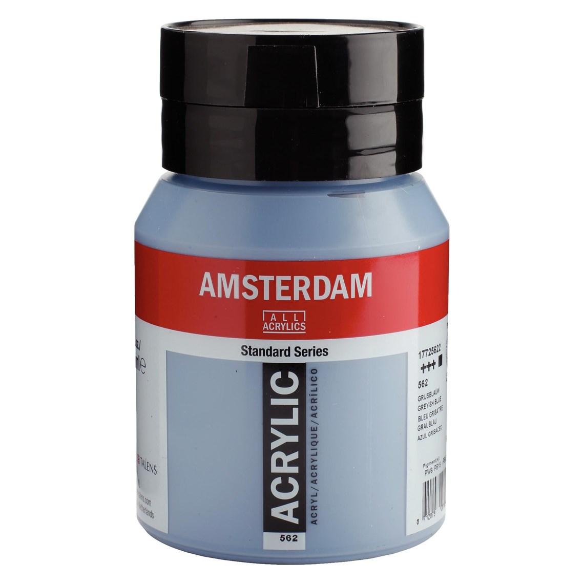 Amsterdam acrylverf Grijsblauw 562