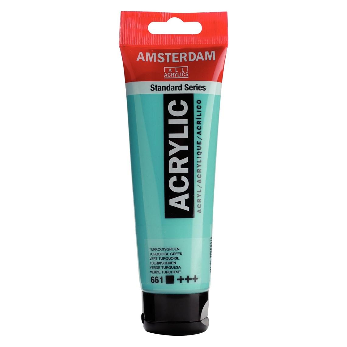 Amsterdam acrylverf Turkooisgroen 661