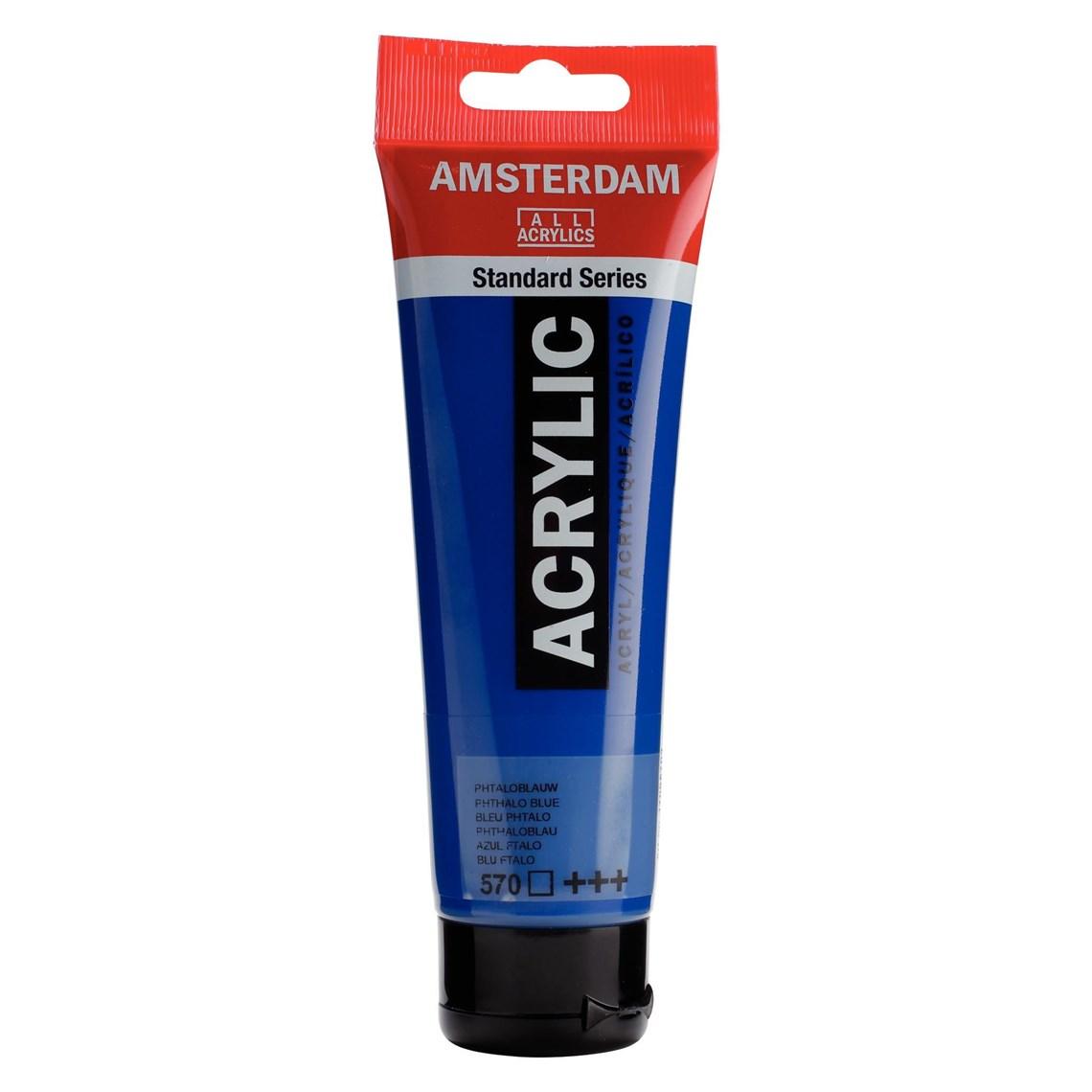 Amsterdam acrylverf Phtaloblauw 570