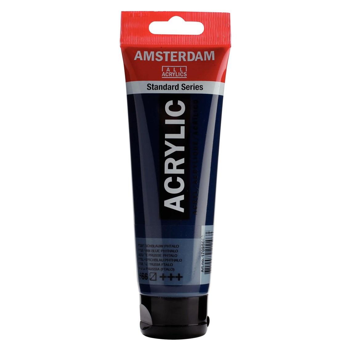 Amsterdam acrylverf Pruisischblauw (phtalo) 566