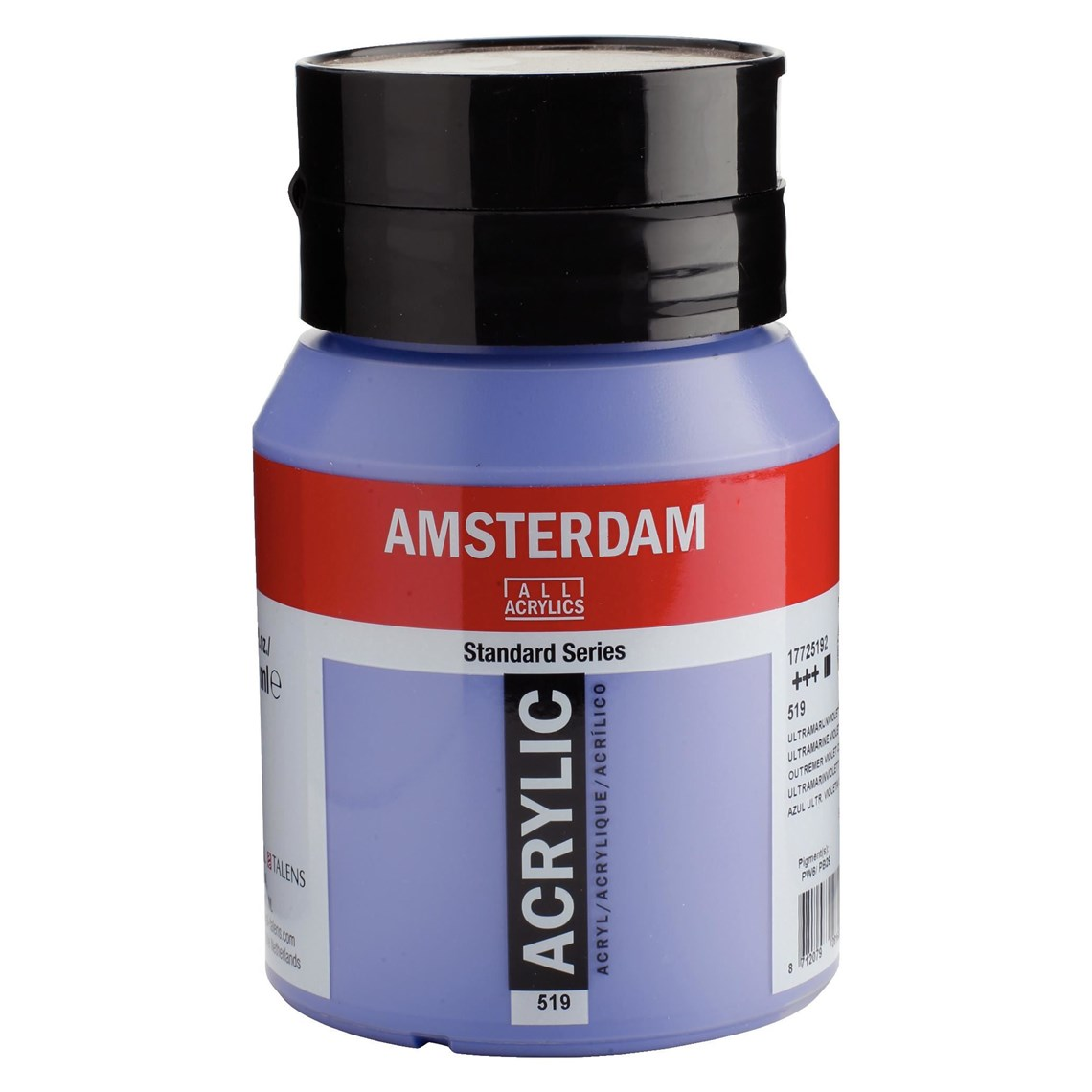 Amsterdam acrylverf Ultramarijnviolet licht 519 Angelart kunst en zo