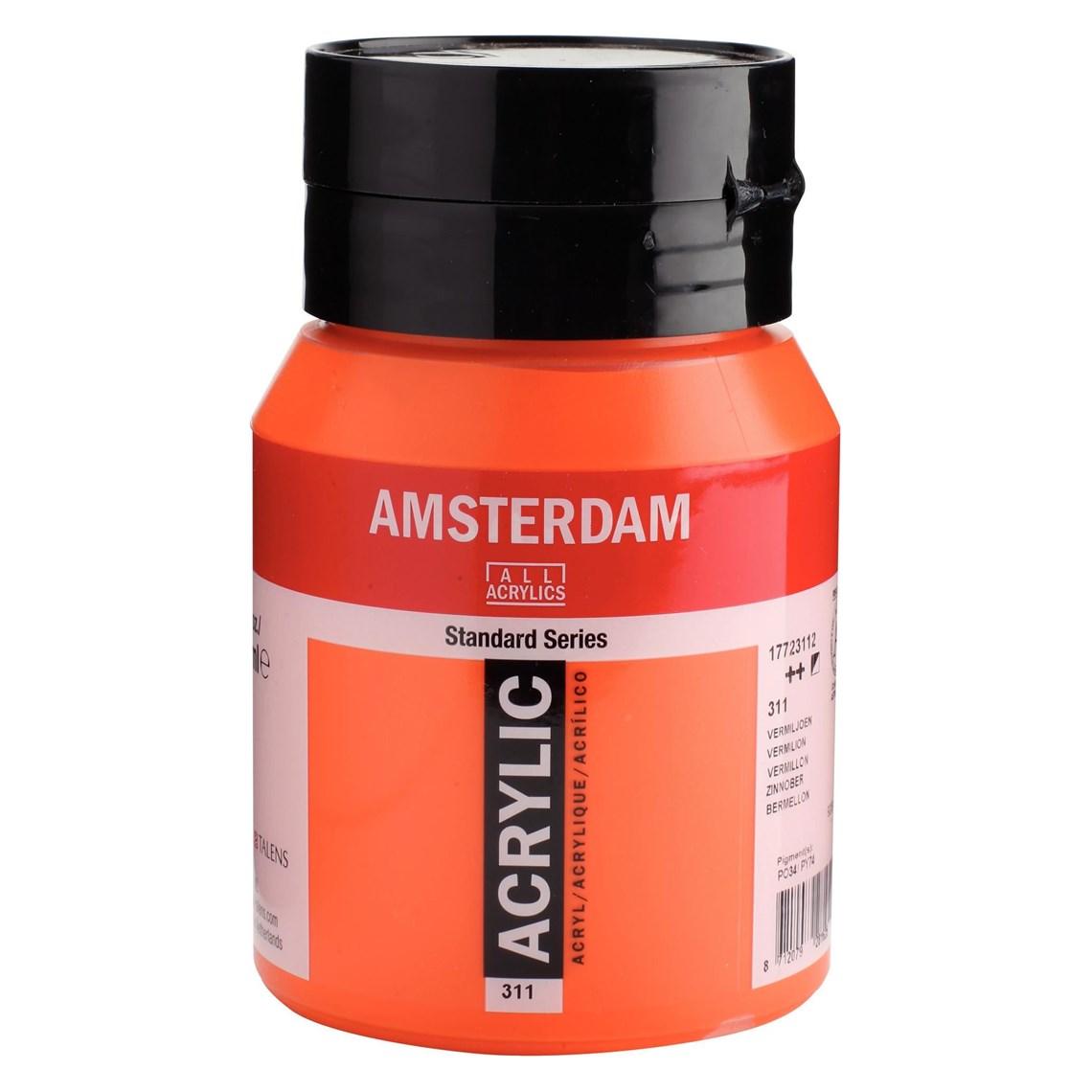 Amsterdam acrylverf Vermiljoen 311
