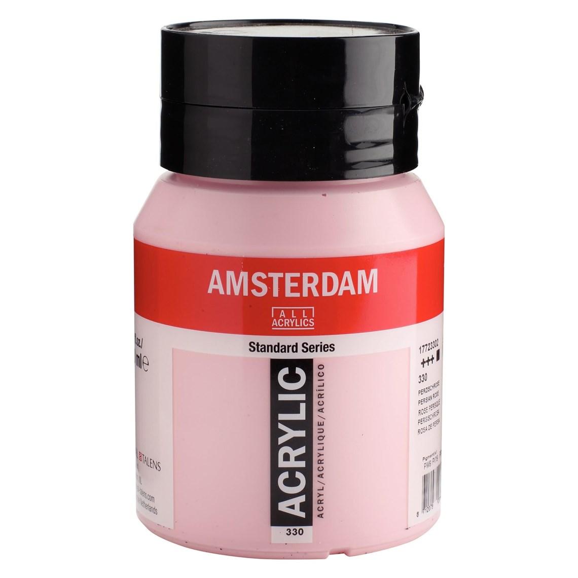 Amsterdam acrylverf Perzischroze 330 Angelart Kunst en zo