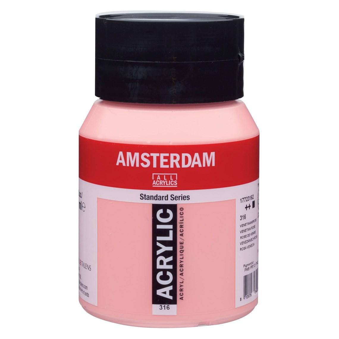 Amsterdam acrylverf Venetiaansroze 316 Angelart kunst en zo