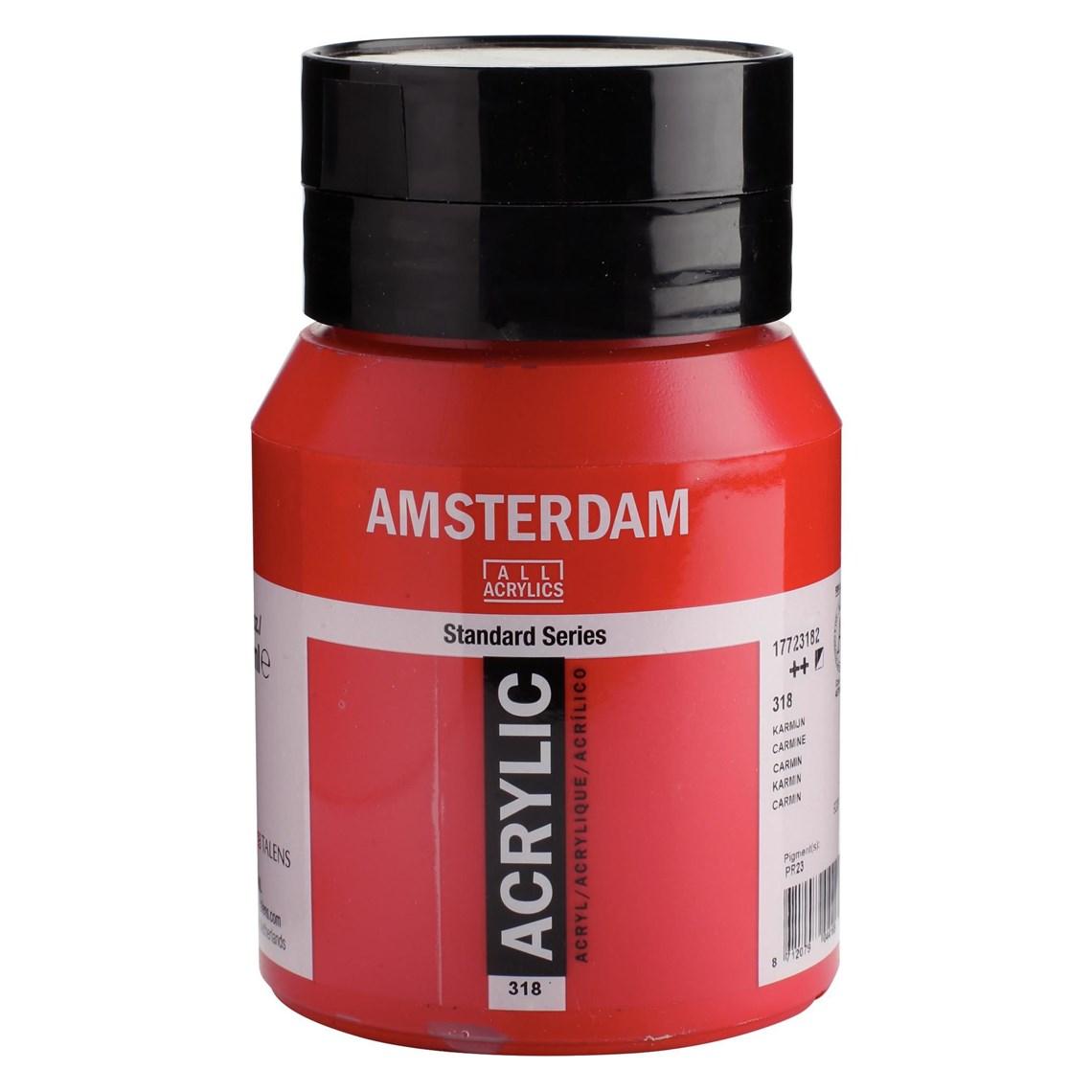 Amsterdam acrylverf Karmijn 318 Angelart kunst en zo