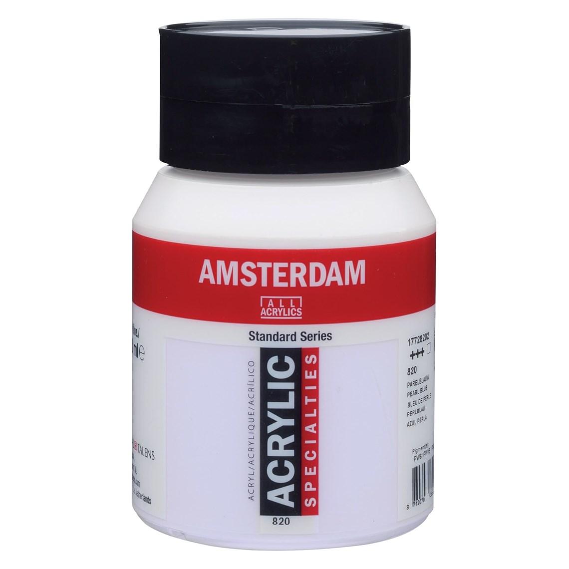 Amsterdam Acryl Parelblauw 820 specialties Angelart Kunst en zo