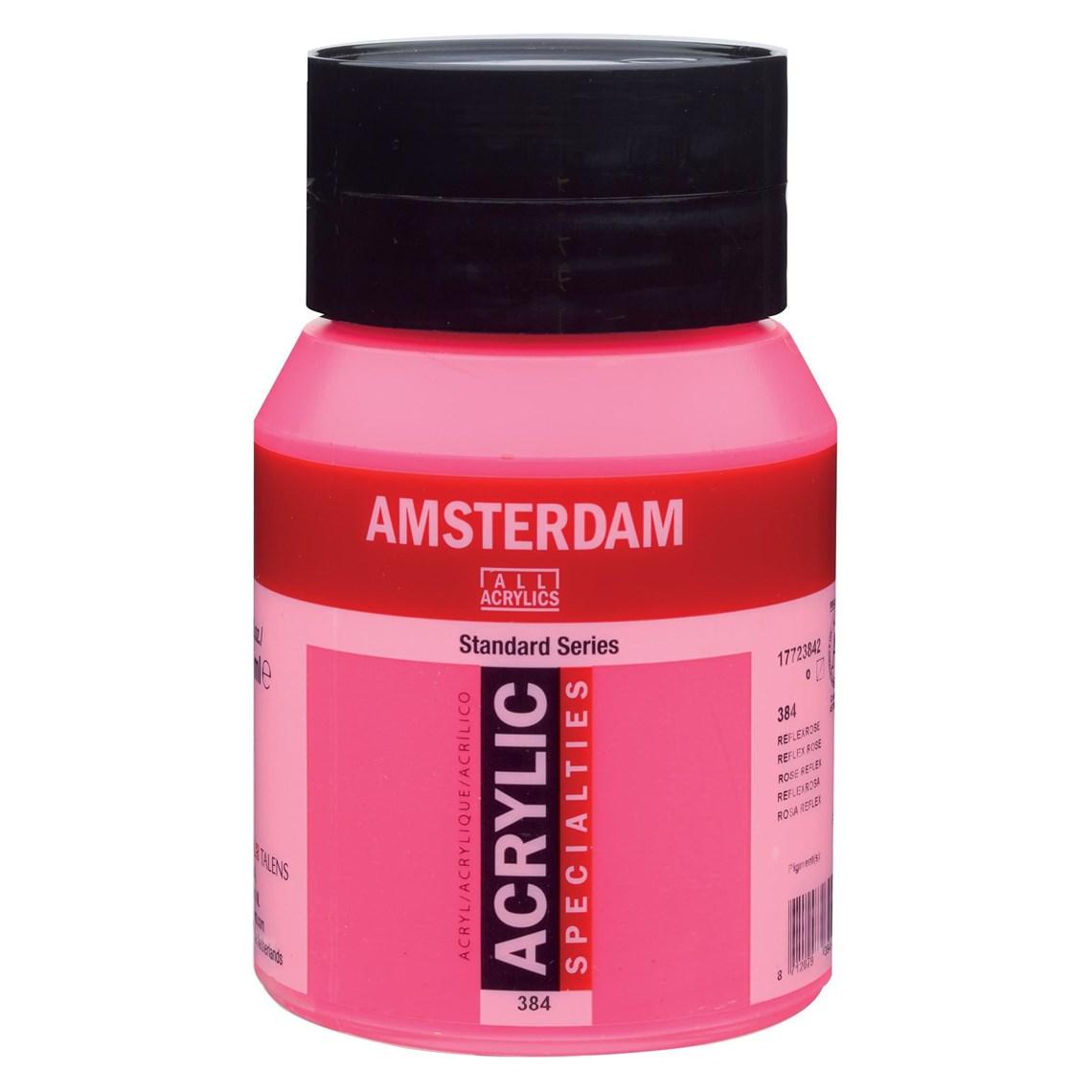 Amsterdam Acryl Reflexroze 384 specialties Angelart Kunst en zo