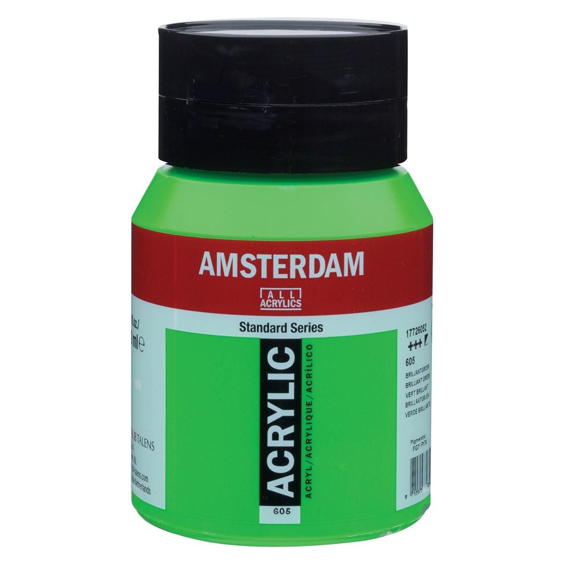 Amsterdam acrylverf Briljantgroen 605
