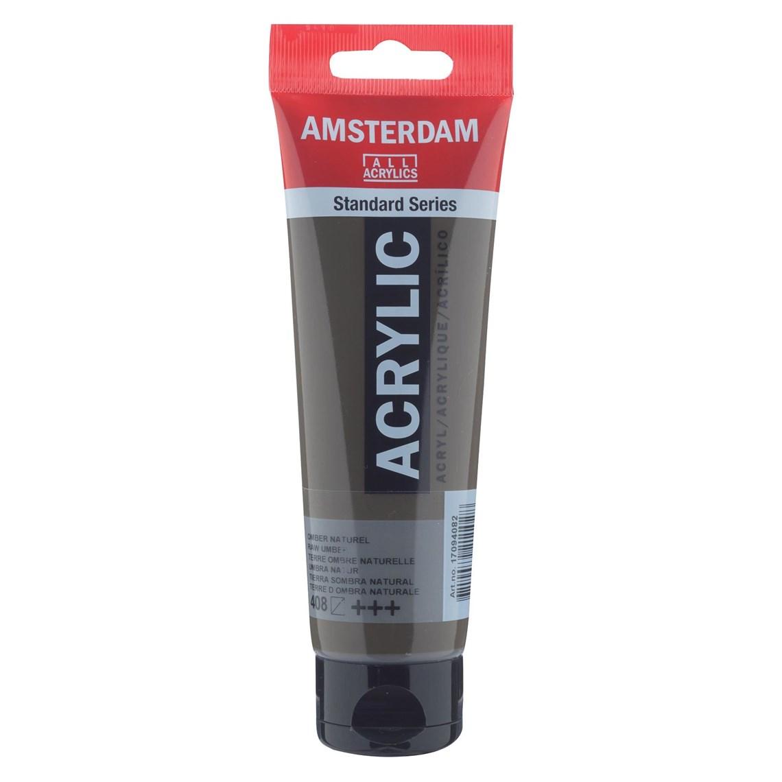 Amsterdam acrylverf Omber naturel 408