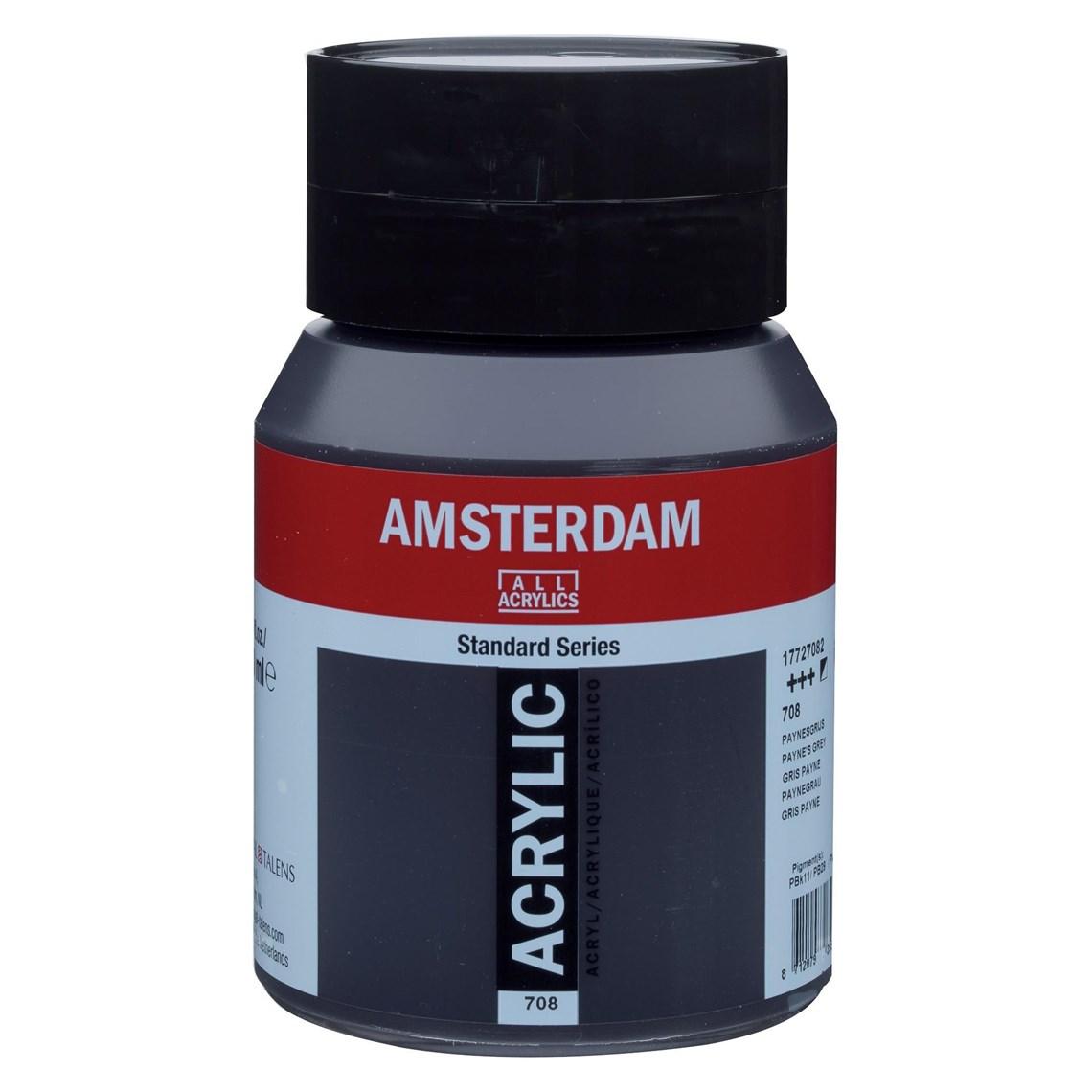 Amsterdam Acrylverf Paynesgrijs 708 Angelart Kunst en zo