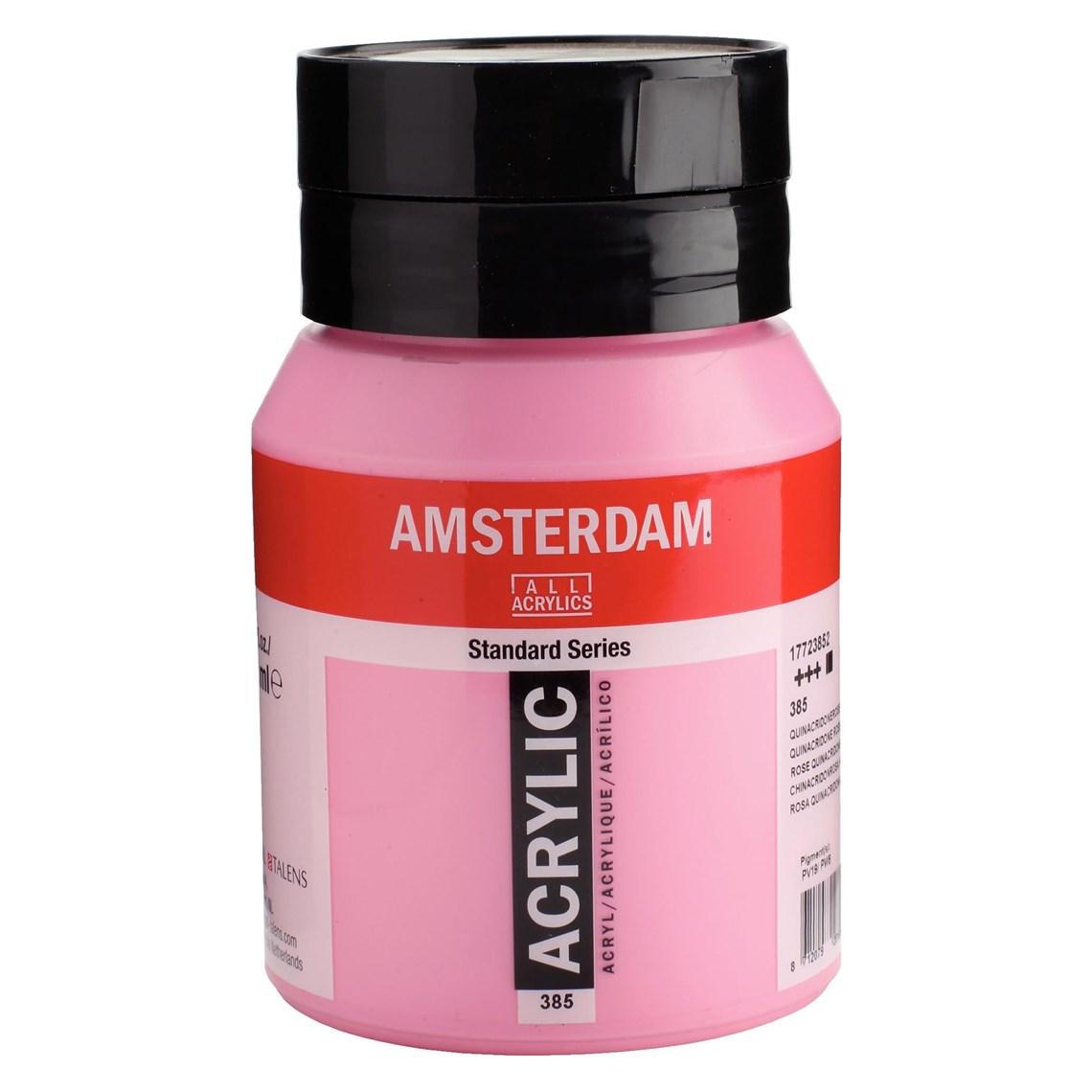 Amsterdam acrylverf Quinacridoneroze licht 385