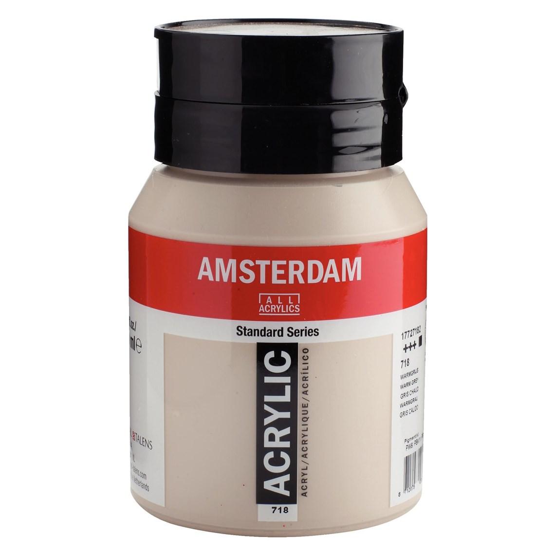 Amsterdam Acrylverf Warmgrijs 718 Angelart Kunst en zo