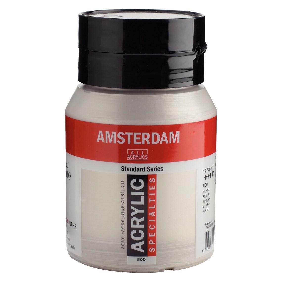 Amsterdam Acryl Zilver 800 specialties