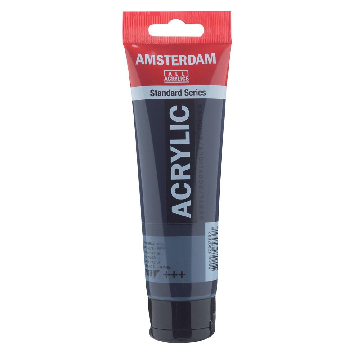 Amsterdam Acrylverf Paynesgrijs 708