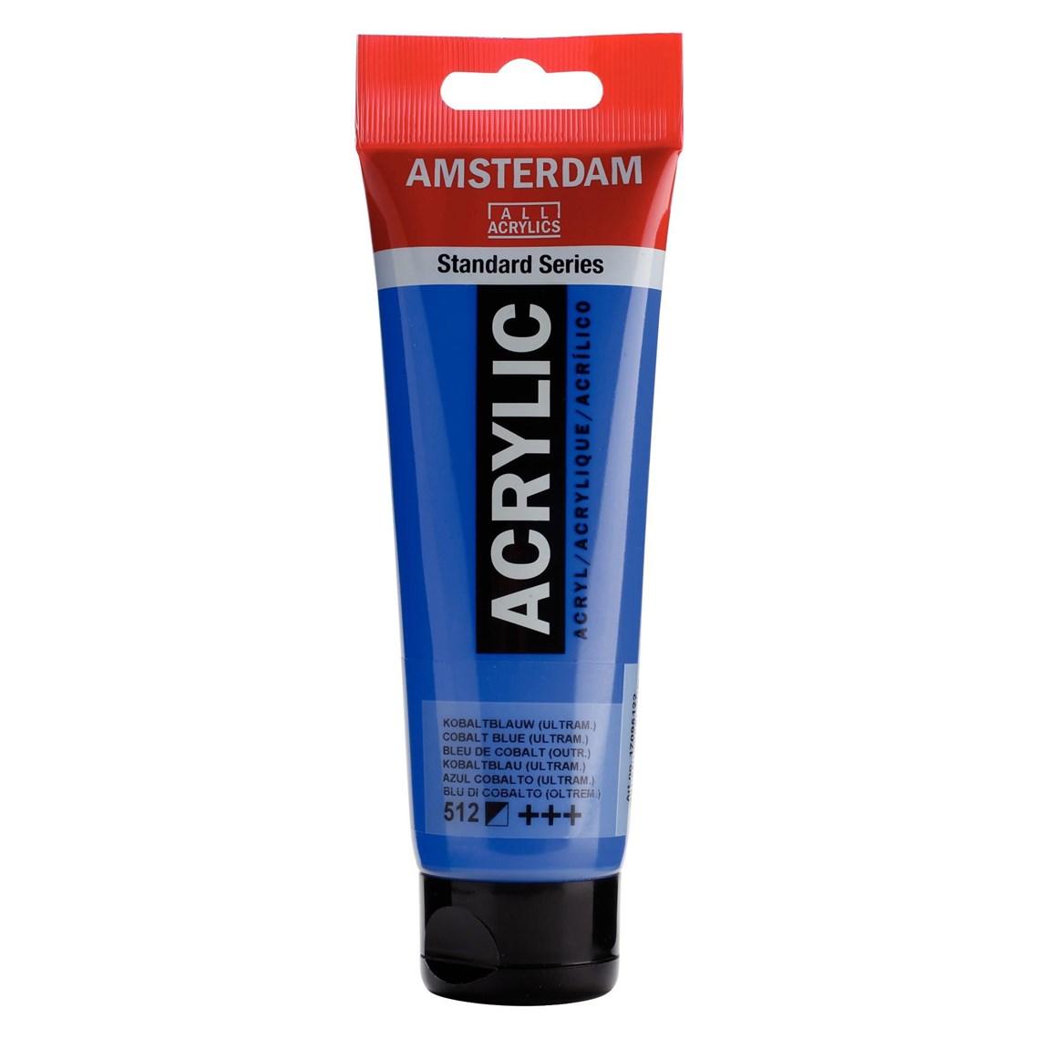 Amsterdam acrylverf Kobaltblauw (ultramarijn) 512