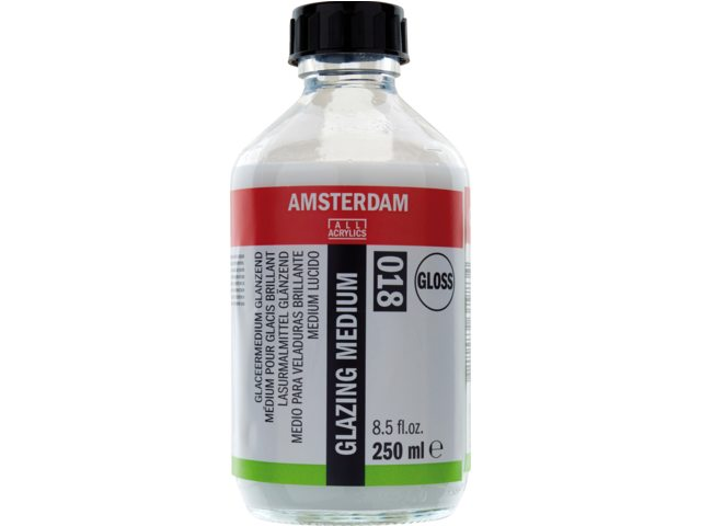 Amsterdam glaceermedium glanzend 250 ml