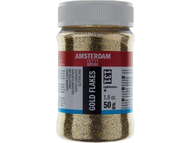 Flakes Goud Amsterdam 131 – 50 gram
