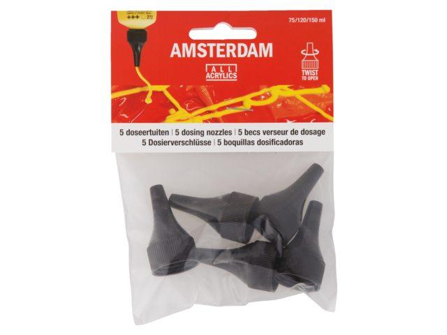 Amsterdam acrylverf doseertuiten voor tubes