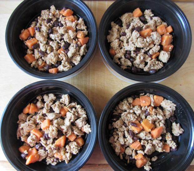 Ground Chicken Sweet Potato Black Bean Skillet