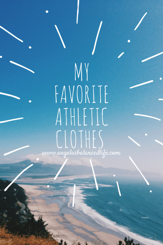 My Favorite Athletic Clothes That I Recommend