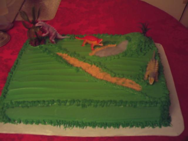 Safari Dinosaur Sheet Cake Cake Bakery