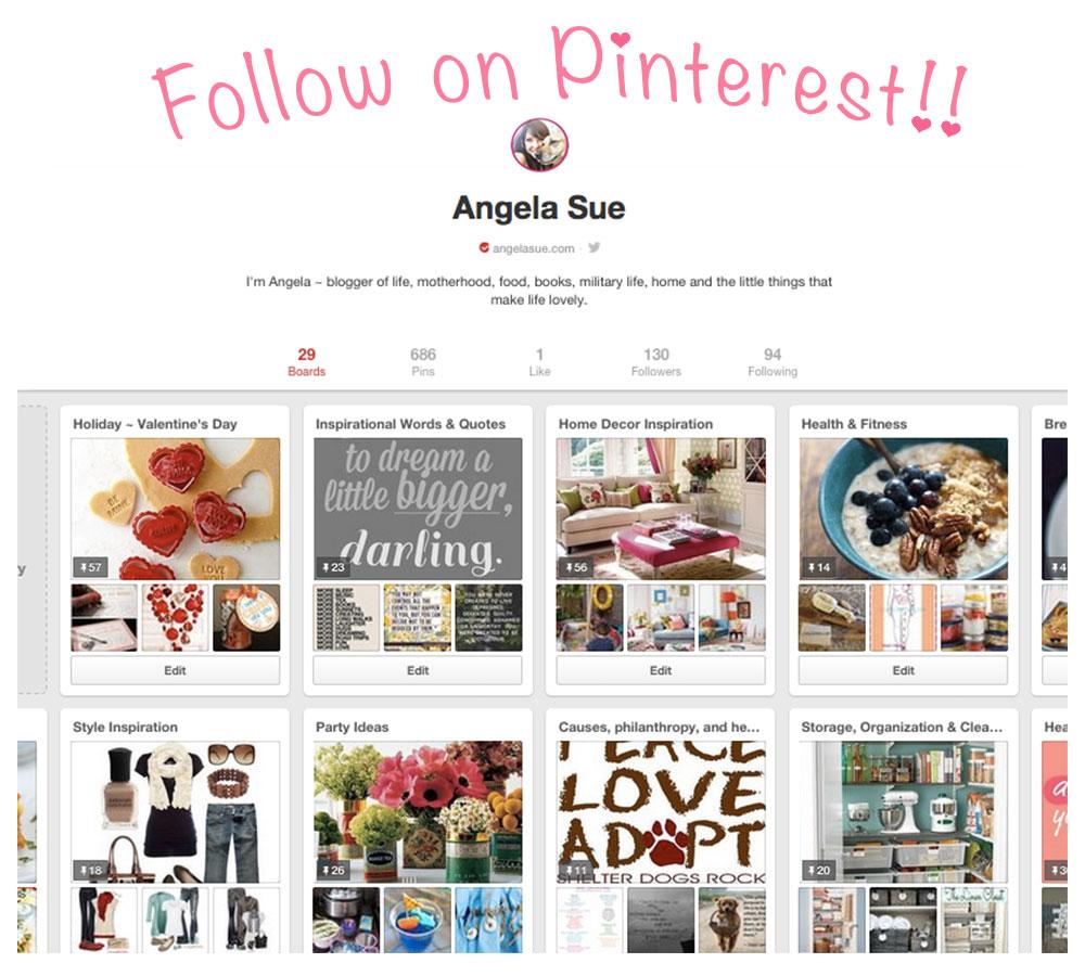 Follow on Pinterest