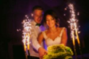 Blurred Wedding Photo