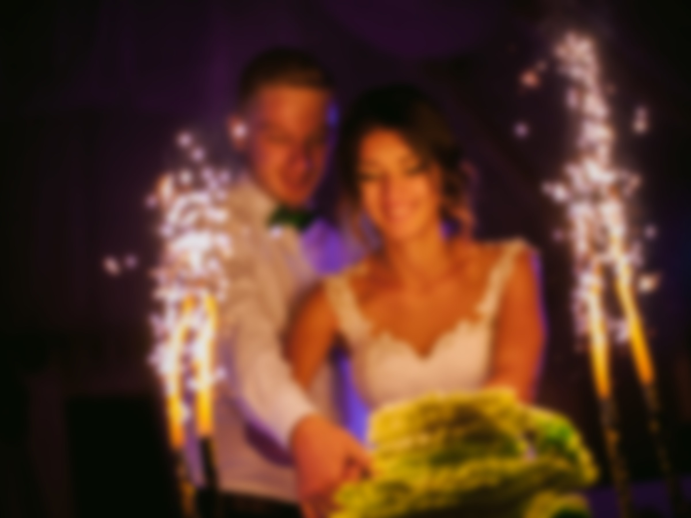 Blurred Wedding Photo
