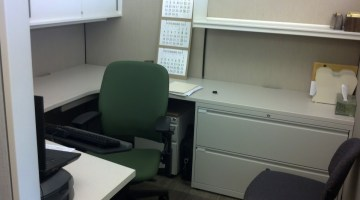 cublical desk