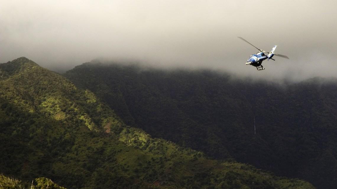 Blue Hawaiian Helicopter