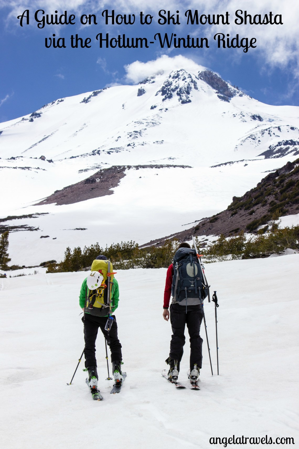 Everything you need to know to climb and ski Mt. Shasta's Hotlum-Wintun Ridge.