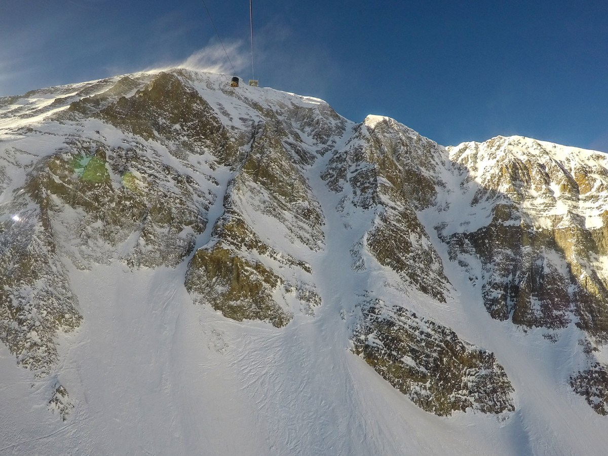 Montana Big Sky Skiing - My First Couloir