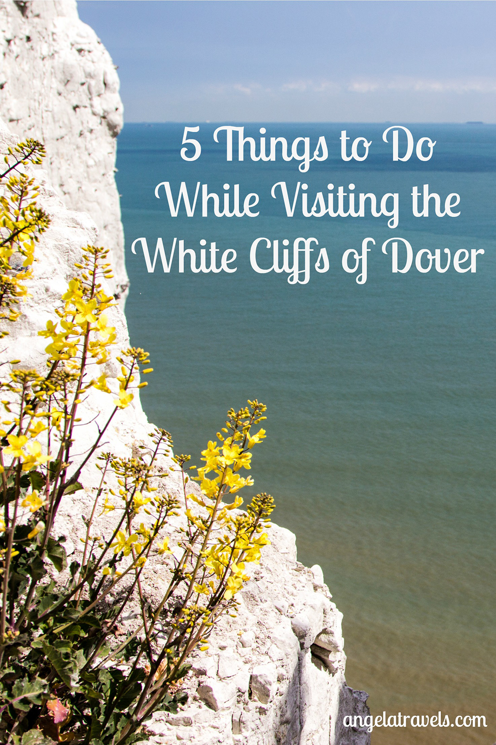 Pin image for 5 Things to Do While Visiting the White Cliffs of Dover