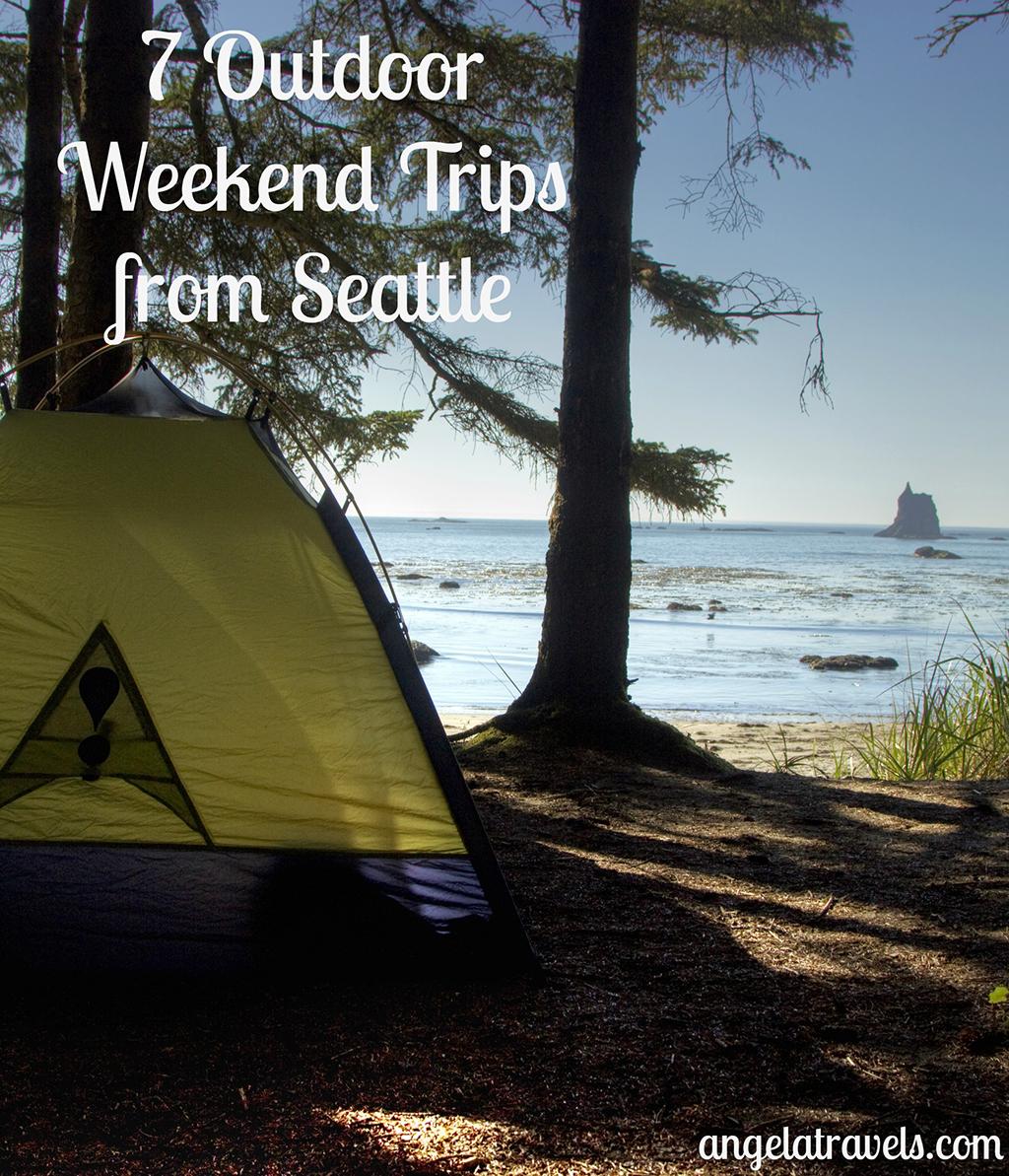 pinterest 7 Outdoor Weekend Trips from Seattle