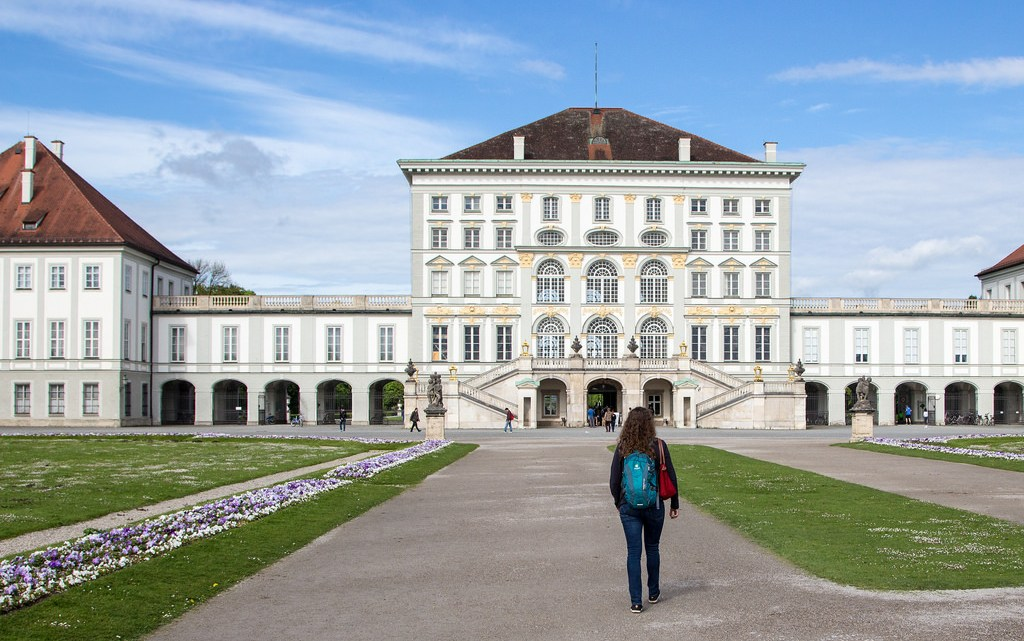 Angela Travels to Schloss Nymphenburg
