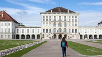 Angela Travels to Schloss Nymphenburg